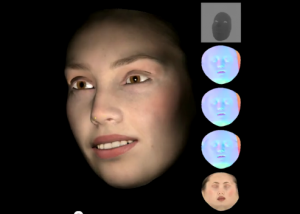 Emily appears in Real-time