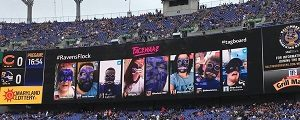 Baltimore Ravens Launch Augmented Reality Face Paint App